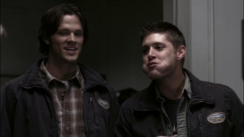 Supernatural |2х15| Дин в утрированной версии Сэма