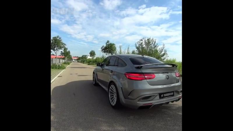 Бодрый старт в исполнении GLE63 Coupe в обертке от Hamann