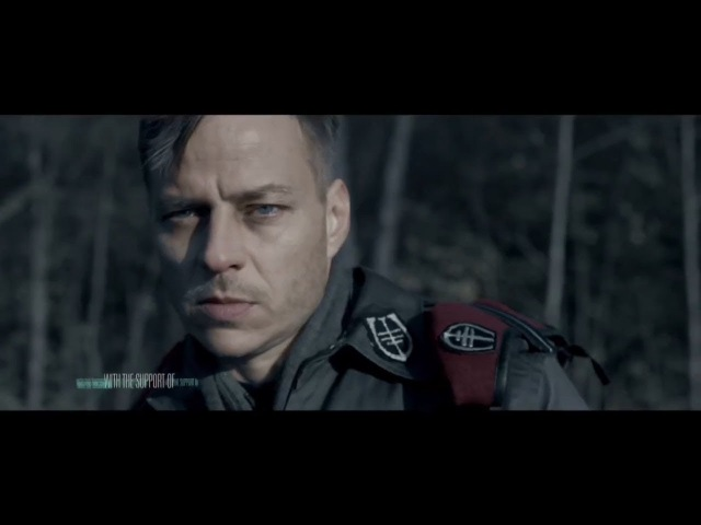 Tom Wlaschiha and Maciej Stuhr in the intro film of the European Film Awards 2016