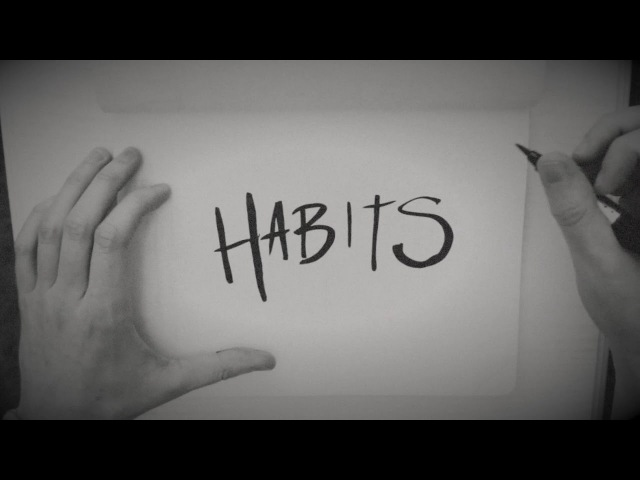 PLESTED Habits Official Lyric Video