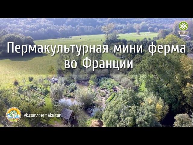 Пермакультурная мини ферма во Франции