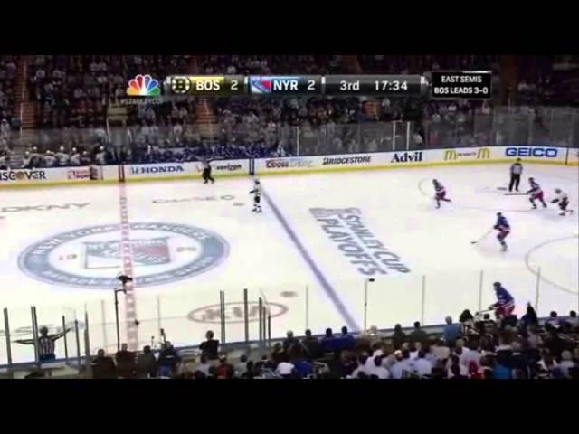 NHL '13, ¼ SC, матч 4: Boston Bruins vs New York Rangers (24.05.2013)