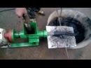 экструдер угольной и древесной пыли