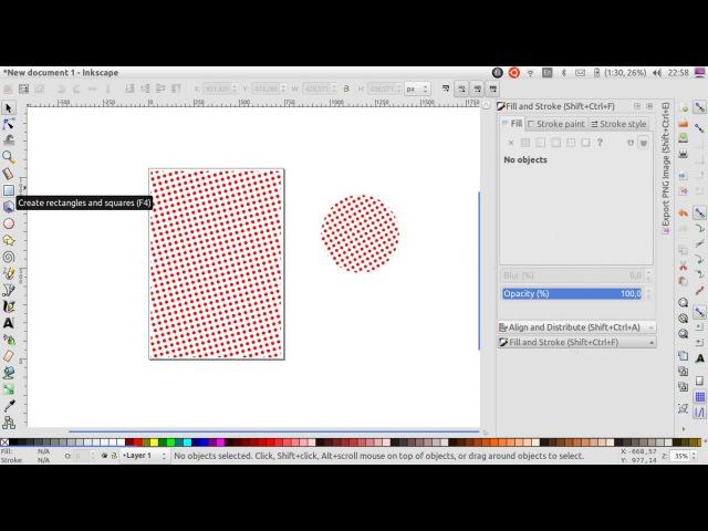 Tutorial dasar membuat template pattern menggunakan inkscape dan menamai pattern dengan XML editor