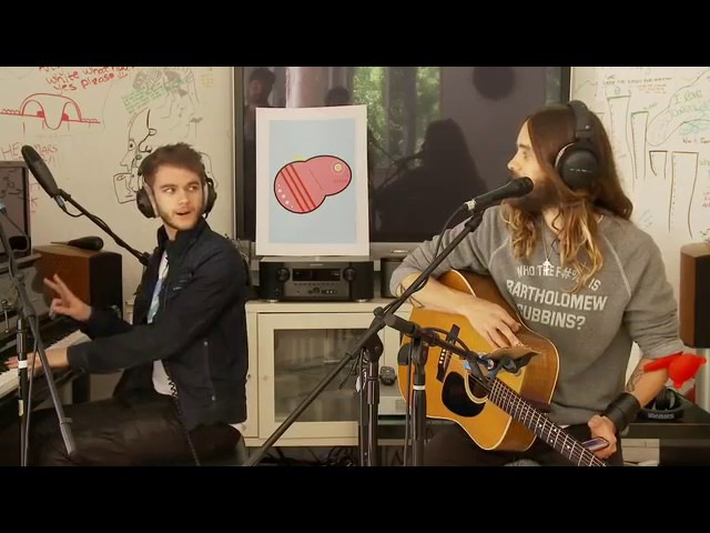 30 Seconds to Mars Stay the Night feat ZEDD acoustic