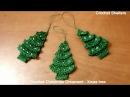 How to crochet Christmas Ornament - Xmas tree quick easy