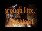 LONEWOLF - Through Fire, Ice And Blood (2017, LYRIC VIDEO)