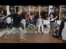 Hip-Hop Beginners Santos vs Юджин Метр с кепкой dance battle