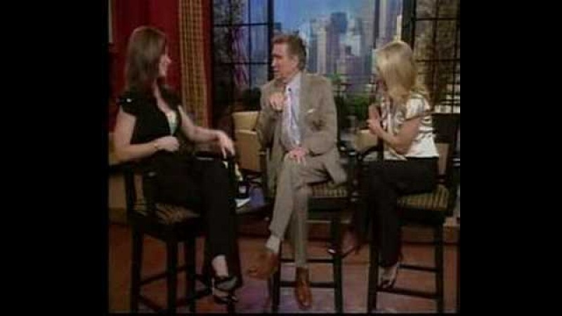 Evangeline Lilly on Regis and Kelly May 2007