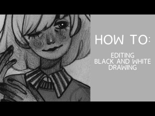 how i edit my graphite drawings
