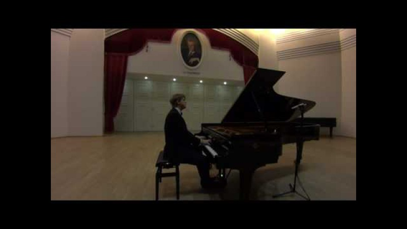 J. S. Bach - Praeludium und Fuge Fis-Dur BVW 858, WTK Book 1 (Oleg Khudiakov)