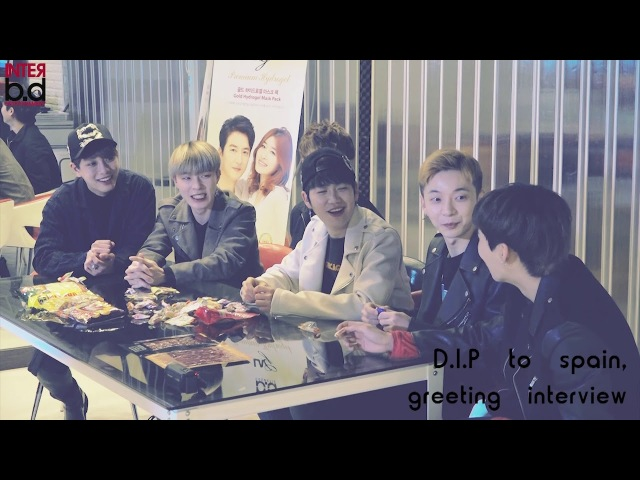 D.I.P Greeting interview Spain Snack eating