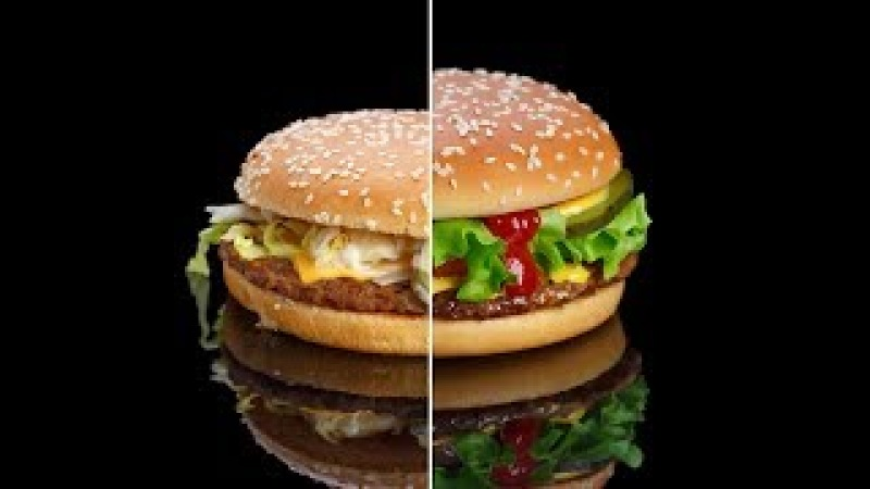📸 Снимаем бургер из МакДоналдс / Заметки Меткина / Выпуск 1