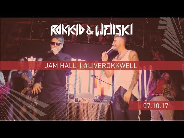 Rokkyd Wellski - Выступление в Jam Hall | liverokkwell