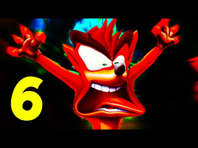 ITS GETTING HOT IN HERE | Crash Bandicoot NSane Trilogy - Part 6