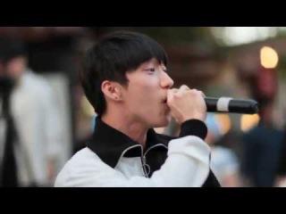 [PERF: 170610] RAEHWAN, CHACHU - Wine (ор. Suran feat. Changmo) @ Уличное выступление с V&V Crew в Ильсане