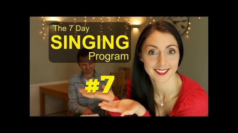SINGING WARM DOWN - Day 7 Weekly SINGING EXERCISE Program