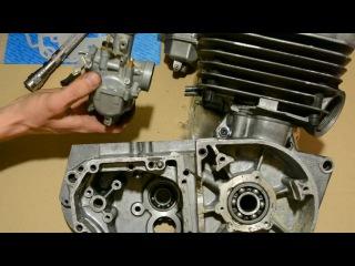Устанавливаем карбюратор PZ30 на мотоцикл Минск. Часть 1- теория.