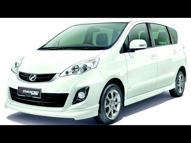 Perodua Alza Advanced Version '2013