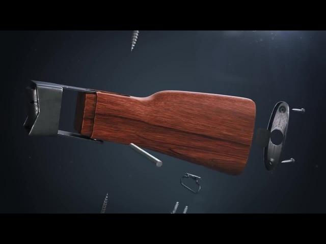 How an AK-47 is assembled
