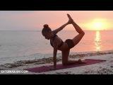 Вечерняя йога для начинающих  Вдохновение морем    Yoga for beginners
