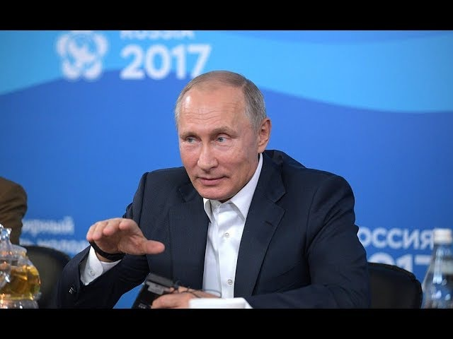 Young Russian Scientist Explains To Putin Why He Did Come Back To Russia From West