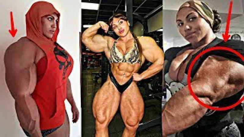 This Woman Can Beat Phil Heath at Mr Olympia (Freaking Mass Monster)