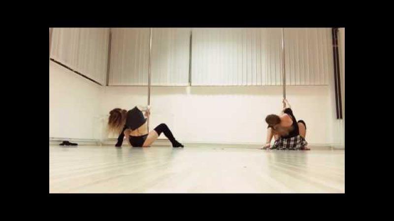 Pole dance choreography - Imagine dragons/Radioactive (Maja Pirc Teja Burgar)