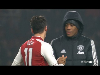 Mesut Özil vs Manchester United (Home) 17-18 HD 1080p