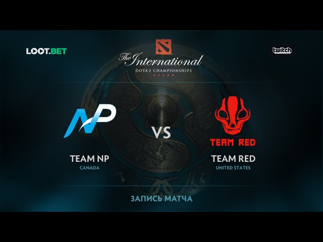 NP vs Red, The International 2017 NA Qualifier