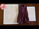 Строим выкройку для джинсов на куклу Беби Борн