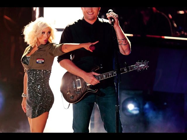 Christina Aguilera, Adam Levine, B. Shelton CeeLo Green - I Love Rock'n'Roll (Live The Voice 2013)