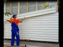 Отделка стены виниловым сайдингом правильный монтаж установка монтаж сайдин ...