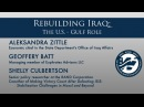 Rebuilding Iraq The U S Gulf Role