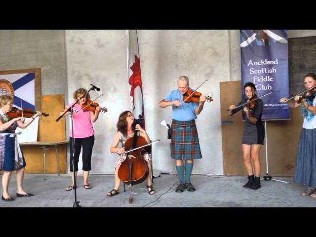 Auckland Scottish Fiddle Competition 2015
