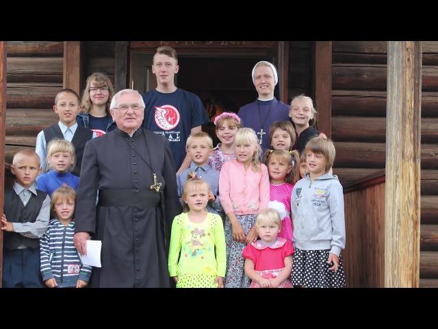 25 лет приходу Святого Станислава, село Вершина Иркутская область