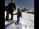 2х летняя сноубордистка постирает бокс