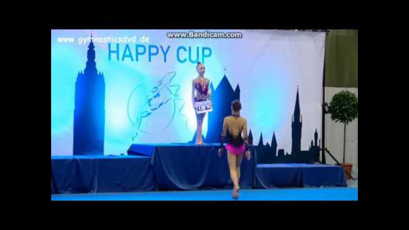 Award Ceremony - juniors ( Ball \ Ribbon) Happy Cup Ghent 2017