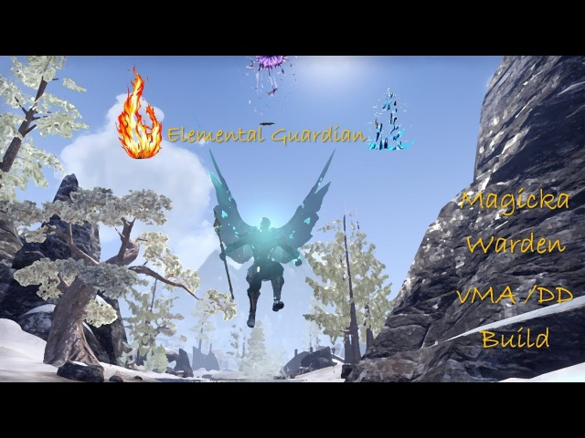 Elemental Guardian - Magicka Warden vMA Full Flawless run CWC
