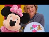 Minnie Mouse ile MLP için PlayDoh iki renkli kurabiye