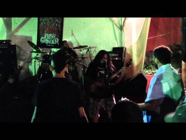 FLESH GRINDER - Live at Exhale The Sound Fest
