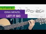 Idina Menzel - Let It Go ( Guitar Version ) Realtime TABS+Sheetmusic