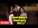 Shilpa Shetty Javed Akhtar And Shabana Azmi Diwali Party 2017