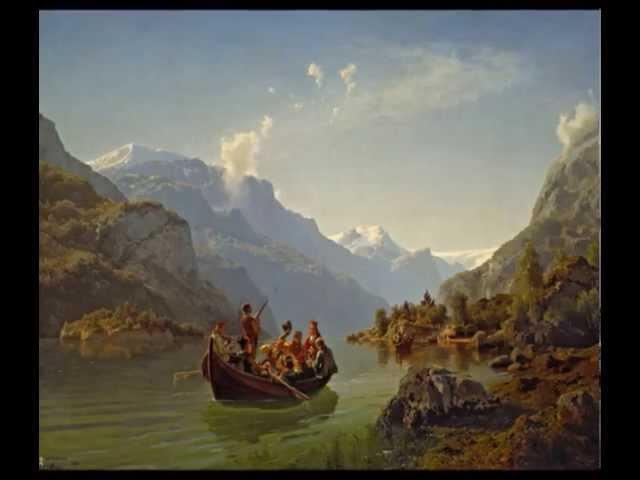 Norsk folkemusikk Folkedans Halling Norwegian folk dance on the violin hardingfele Hardanger Fiddle