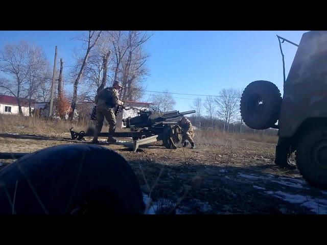 Укрофашисты засветили лица на камеру при обстреле мирных жителей и трусливо убежали