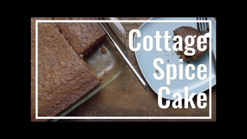 Cottage Spice Cake Easiest Recipe Ever! || Le Gourmet TV Recipes