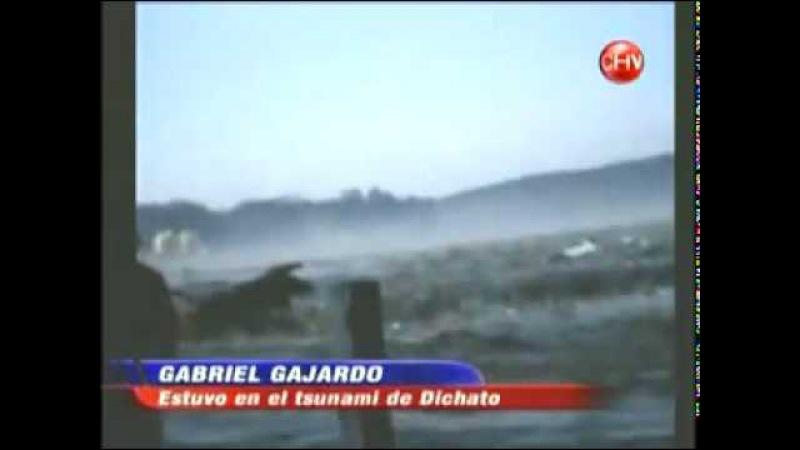 TSUNAMI EN CHILE 2010 DESPUES DEL TERREMOTO (DICHATO) CHILE TSUNAMI IN 2010 AFTER THE EARTHQUAKE