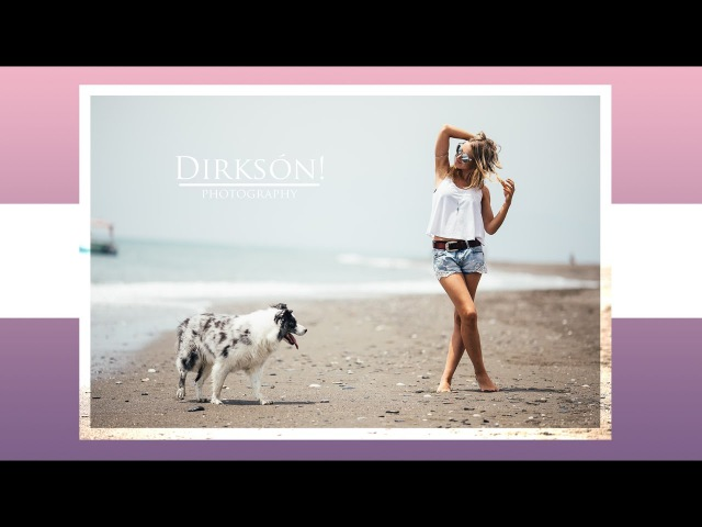 Canon 135mm L f2.0 Photoshoot on the Beach CANON Edition