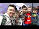 ВЛОГ у нас НОВОСТЬ Илья, Артур и Давид Boys and Toys с Timko Kid играют вместе Картонка Family
