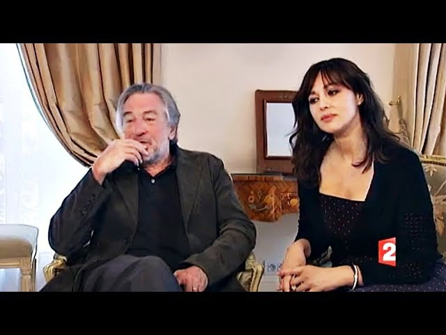 Robert De Niro and Monica Bellucci interview